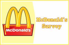 Mcdvoice McDonald's Survey